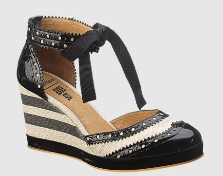 Anna Sui for Hush Puppies RNR Ankle Strap
