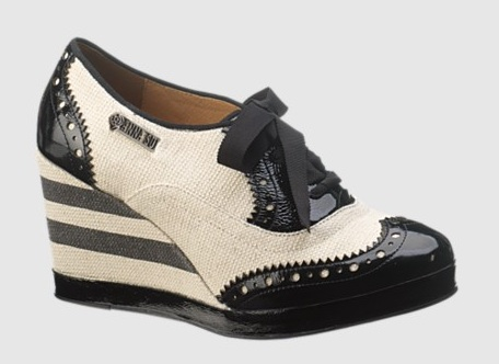 Anna Sui for Hush Puppies RNR Oxford