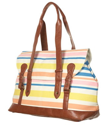Regatta Stripe Tote Bag