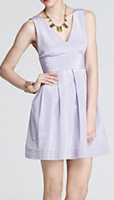 Shoshanna Dress - Quinn V Neck Dress