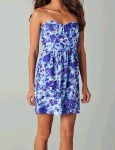 Shoshanna Julianne Gaia Print Dress