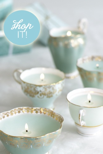 Brides Bask In The Sheer Gifting Potential Of These Fancy Tea Cup Candles Or How They Could Light Up Your Tables Prettiest Primmest Way Possible