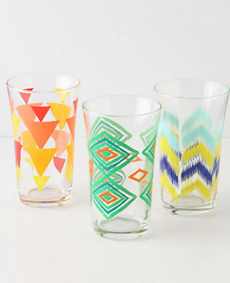 Treading water glasses