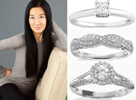 Vera wang has a second diamond collection and it s 50 off today
