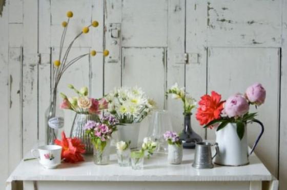 Best Wedding Vases Mercury Glass Containers Wedding Centerpiece
