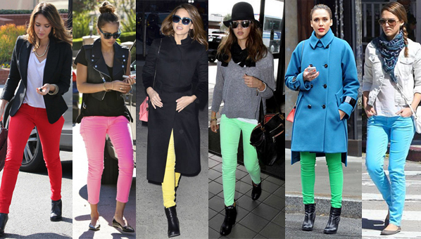 Colorful Skinny Jeans Trend