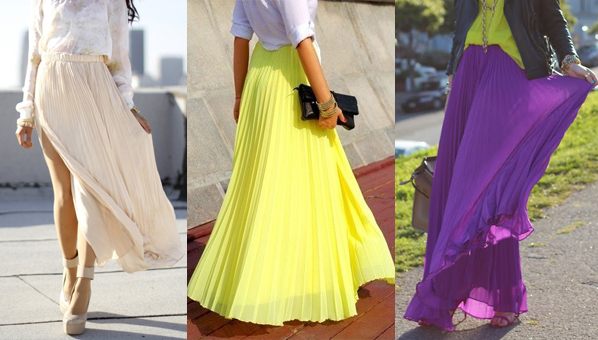 Maxi Skirts Trend
