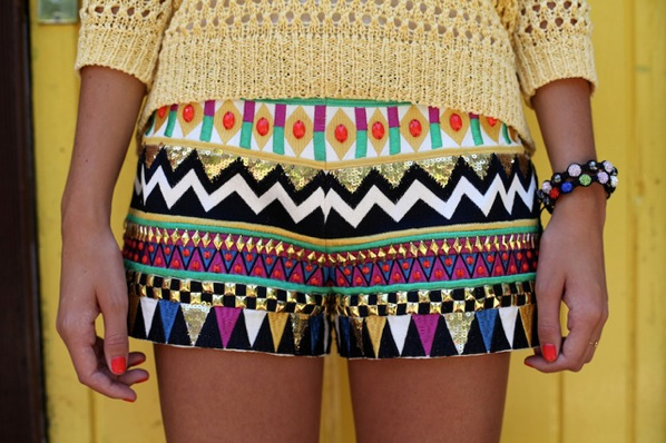 Printed Shorts Trend