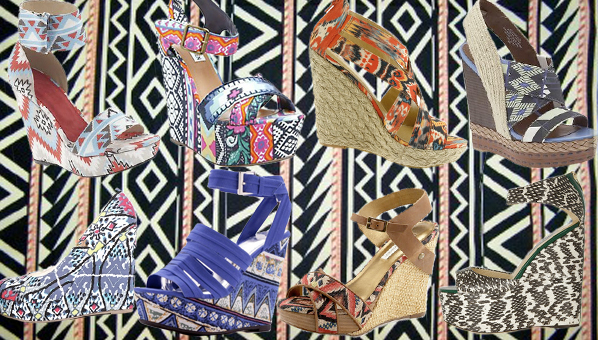 Printed Wedges Trend