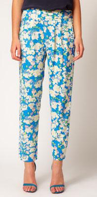ASOS PETITE Exclusive Printed Pants