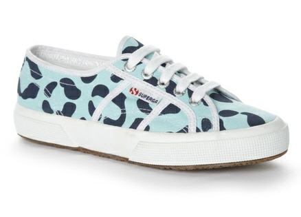 House of Holland x Superga Animal Print