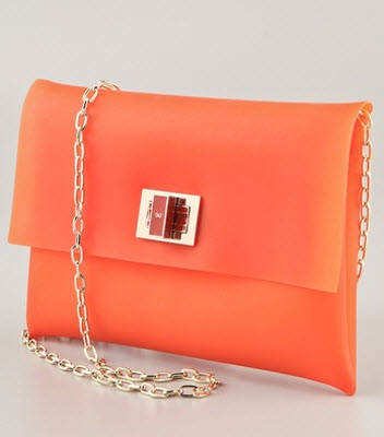 Anya Hindmarch Valorie Rubber Clutch