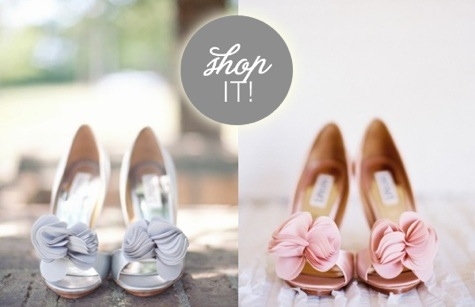 Real Brides in Wedding Shoes by Badgley Mischka: Part III | It's