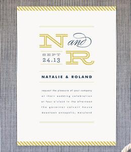 Ballaster Wedding Invitations