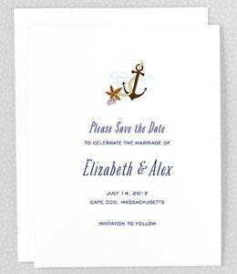 Cape Cod Save the Date