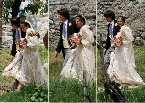 Margherita Missoni Wedding Dress | Margherita Missoni Wedding Photos
