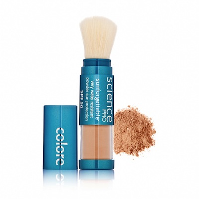Colorscience Pro Sunforgettable Mineral Powder Brush SPF 50 Matte - Tan-Almost Clear