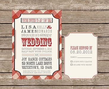 Country Themed Weding Invitations 028 - Country Themed Weding Invitations