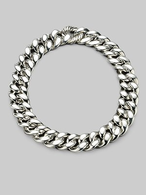 David Yurman Sterling Silver Chunky Chain Necklace