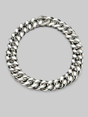 David Yurman Sterling Silver Chunky Chain Necklace