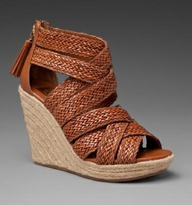 Dolce Vita Tulle Wedge Sandal