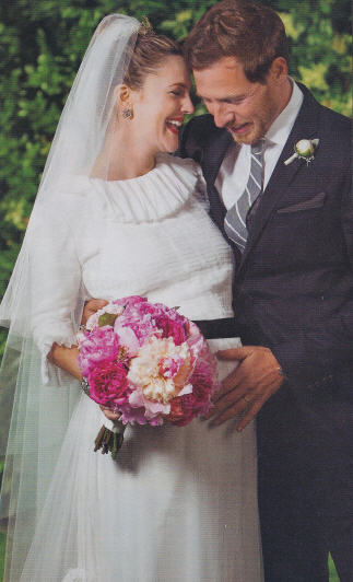 Drew Barrymore Wedding Photos | Drew Barrymore Chanel ...