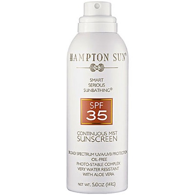 Hampton Sun SPF 35 Continuous Mist Sunscreen
