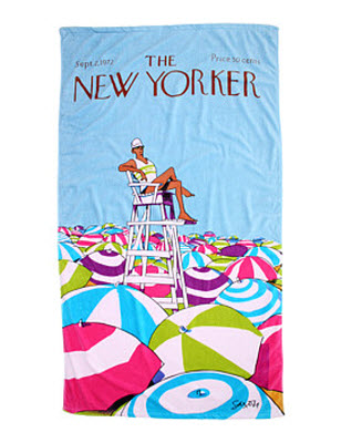 Home Source International The New Yorker On Duty Beach Towel