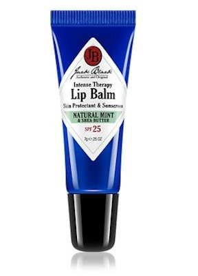 Jack Black Intense Therapy Lip Balm SPF 25, Natural Mint and Shea Butter