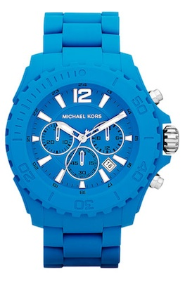 Michael Kors Drake Chronograph Silicone Watch