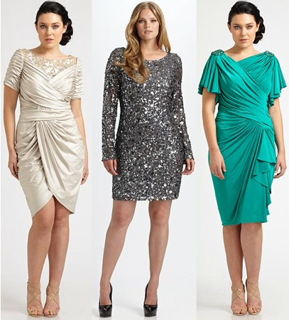Saks Salon Z - Plus Size Designer Dresses - Plus Size Bridesmaid ...