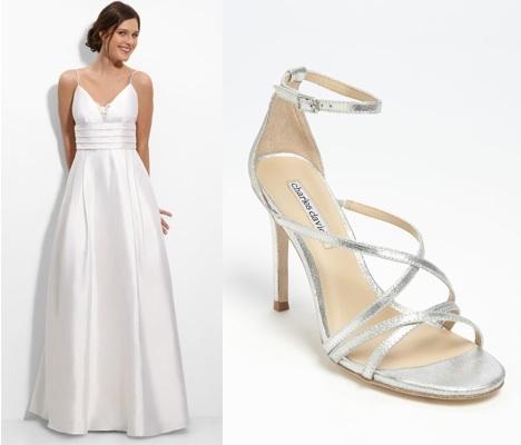 Silk and Satin Shoe Pairings