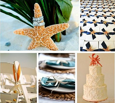 Themed weddings beach wedding decor summer wedding ideas for Summer beach decor