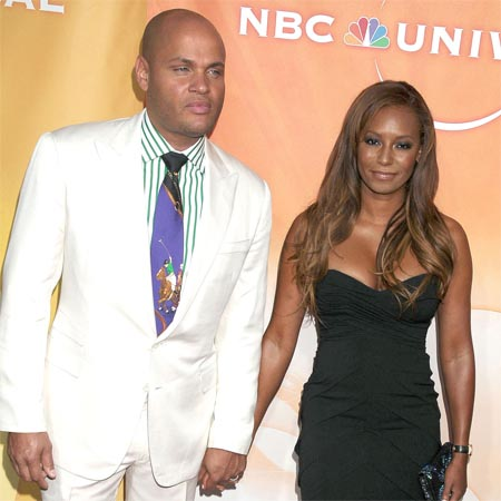 Mel B. and Stephen Belafonte