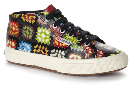 House of Holland x Superga Crochet Print