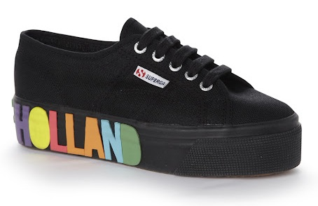 House of Holland x Superga Foxing Multicolor Print