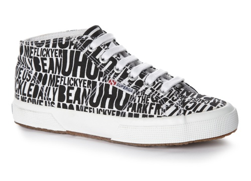 House of Holland x Superga Lettering Print