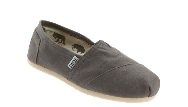 TOMS 'Classic' Canvas Slip-On