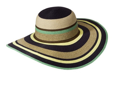 The Webster Navy Stripe Hat