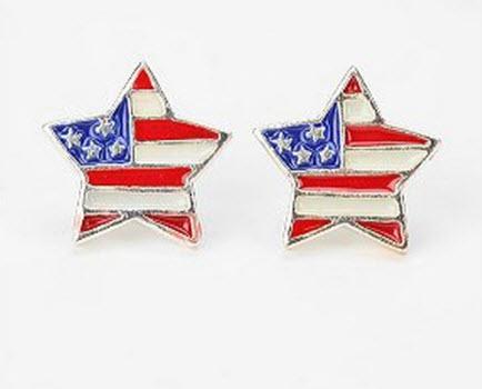 Urban Renewal Americana Earring