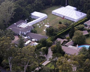 Drew's Montecito, CA estate