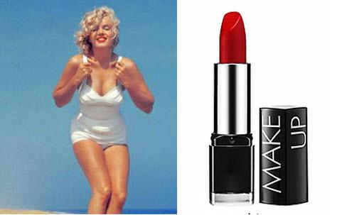12. Red lipstick