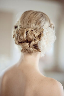Tight Curls Chignon