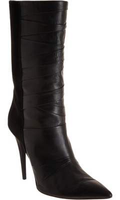 Pleated Boot