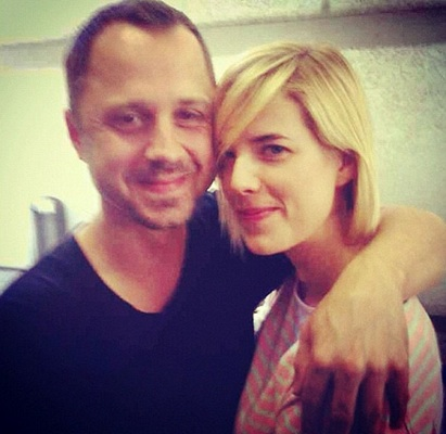 Agyness Deyn and Giovanni Ribisi