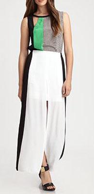 BCBGMAXAZRIA Sammy Slit Maxi Skirt