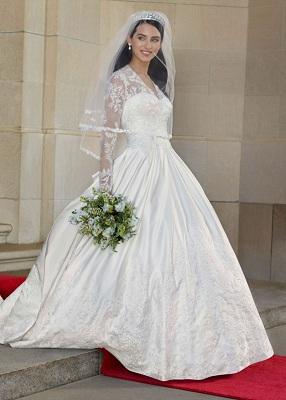 Caroline Trentini Wedding Dress