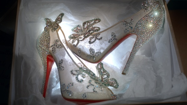 christian louboutin cinderella shoes to buy