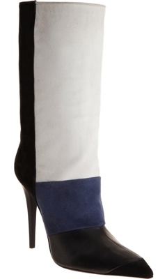 Colorblock Mid-Calf Boot