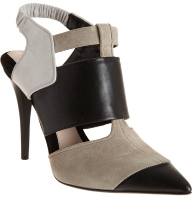 Colorblock Pointed Toe Shoe Boot